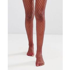 Gipsy extra large fishnet tights - purple