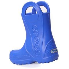 Crocs Kalosze handle it rain boot sea blue 12803-430 - niebieski (0883503860896)