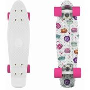 Fish skateboards Deskorolka fishskateboards macarons / white / pink