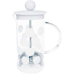 Mała kawiarka french press Dot Dot 0,35 Litra ZAK! Designs biała (1313-881)