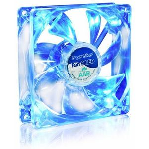 Aab cooling super silent fan 9 blue led (5901812990839)