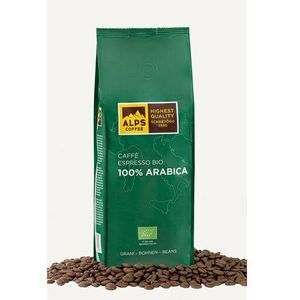Alps coffee (schreyögg) Kawa ziarnista alps coffee bio 100% arabica 500g (4007460012600)
