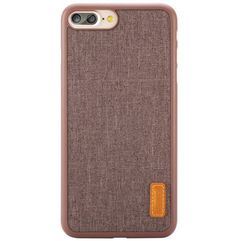 Etui Baseus Grain Case iPhone 7 Plus Brown, kolor brązowy