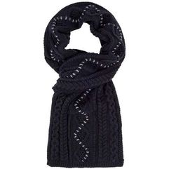Bench Szalik - cable scarf black beauty (bk11179) rozmiar: os