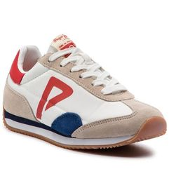 Sneakersy - tahiti retro junior pbs30390 white 800 marki Pepe jeans