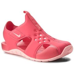 Sandały NIKE - Sunray Protect 2 (PS) 943828 600 Tropical Pink/Bleached Coral