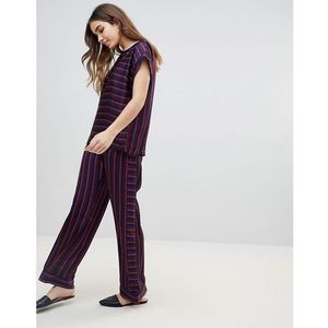 stripe trouser co-ord - multi, Soaked in luxury