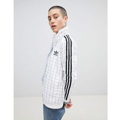 Adidas originals colorado grid print track jacket - multi