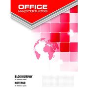 Office products Blok biurowy , a5, w kratkę, 100 kart., 60-80gsm
