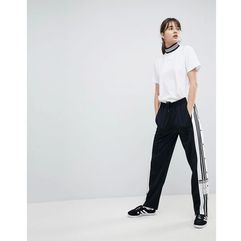 adicolor popper pants in black - black, Adidas originals