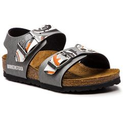 Sandały BIRKENSTOCK - New York Kids Bs 1004371 Star Wars BB-8 Gray