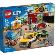 Lego CITY Warsztat tuningowy tuning workshop 60258