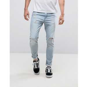 Kubban Skinny Fit Jeans in Light Wash - Blue, skinny