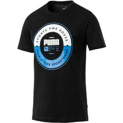 sp execution tee cotton black m marki Puma