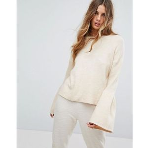 wide sleeve jumper - cream, Micha lounge, 38-40