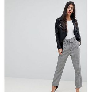 checked tailored trousers - multi marki Miss selfridge petite