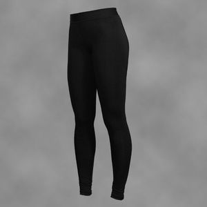 legginsy damskie BLACK-SIMPLE, MMLEG1CBK-W