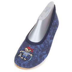 Beck boys buty do gimnastyki pirat blue (4039392250263)