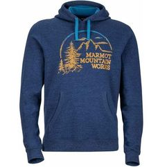 bluza halation hoody vintage navy heather l marki Marmot