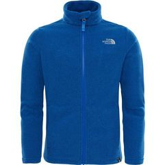 The north face bluza y snow quest fz brgt cob blue xs