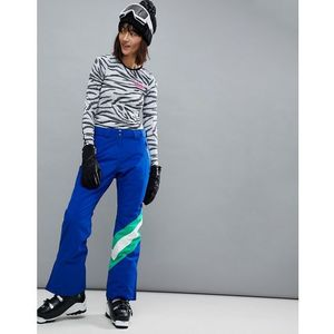snowboard trouser with colourblock detail - blue, Asos 4505