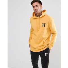 11 Degrees Hoodie In Yellow - Yellow, kolor żółty