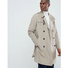 shower resistant trench coat in stone - stone, Asos design, M-XXXL