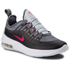 Buty NIKE - Air Max Axis (GS) AH5226 001 Black/Rush Pink/Anthracite, kolor szary