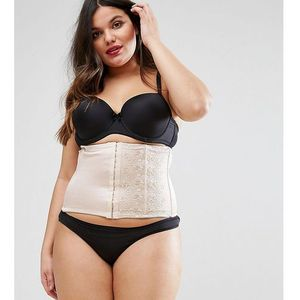 Yours Clothing Waist Cincher - Cream
