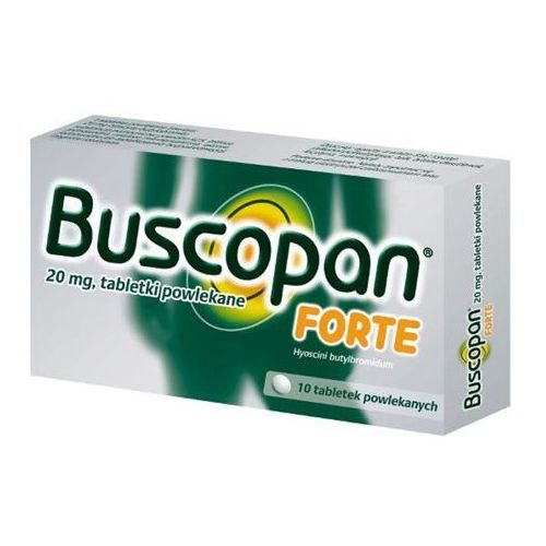 Buscopan Forte 20mg x 10 tabletek