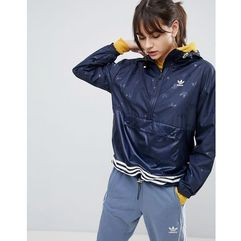 adidas Originals Windbreaker Jacket In Navy - Navy