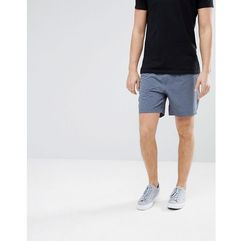 Abercrombie & fitch sports nylon running shorts in washed navy - navy