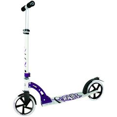 Authentic sports hulajnoga aluminium scooter no rules 205 mm, czarny-biały-lila (4260341181424)
