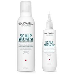 Dobra marka - Goldwell DS SS Sensitive Foam Shampoo 250ml + Goldwell DS SS Soothing Lotion 150ml