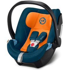 CYBEX Fotelik 0-13kg ATON 5 Tropical Blue (4058511432021)