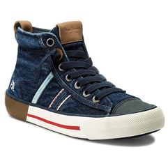 Trzewiki PEPE JEANS - Serthi Boot Denim PBS30330 Denim 000