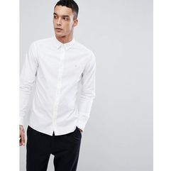 long sleeve shirt in poplin - white, Allsaints, XS-L