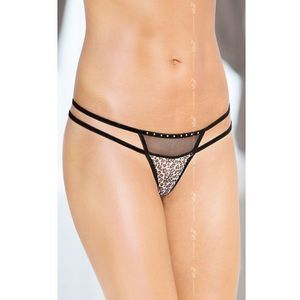 G-String 2459 - panther, poliamid