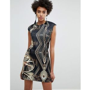 x star wars scuba printed mini dress - multi, Asos