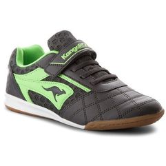 Buty - power comb ev 18063 000 2014 d steel grey/lime marki Kangaroos