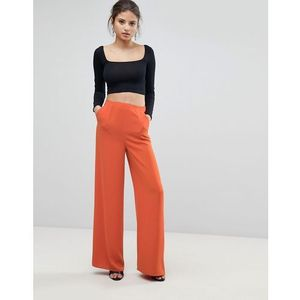 Missguided Wide Leg Trousers - Orange