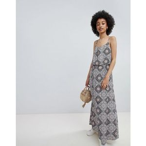 Only tile print maxi dress - multi