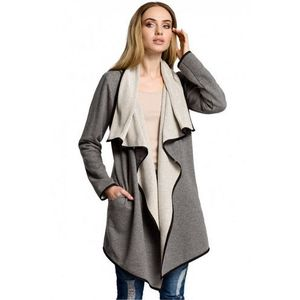 Sweter damski model 357 grey, Moe