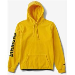 Diamond Bluza - diamond polar fleece hoodie yellow (yel)