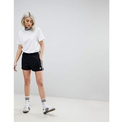 adicolor three stripe shorts in black - black, Adidas originals