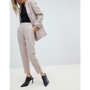soft tailored peg trousers - pink, Allsaints