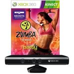 SENSOR KINECT X360+ZUMBA FITNESS: WORLD PARTY ZESTAW