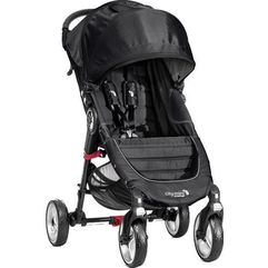city mini - 4 koła, black/grey marki Baby jogger