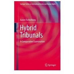 Hybrid Tribunals (9781461466383)