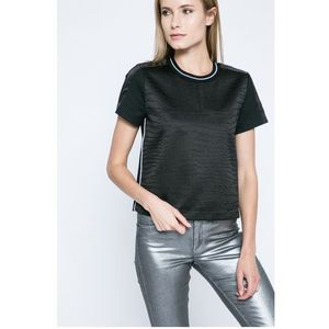 - top wanille animal bonded, Calvin klein jeans